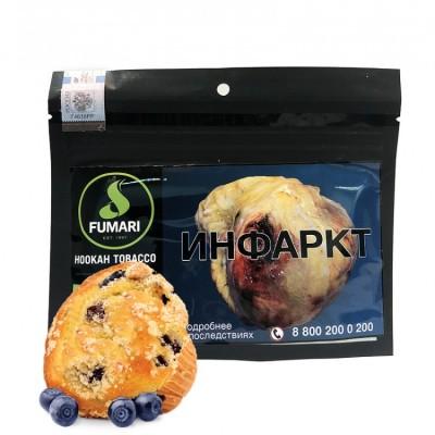Табак Fumari Blueberry Muffin (Фумари Черничный маффин) 100 гр