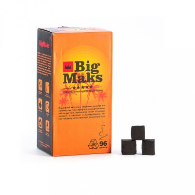 Уголь Big Maks 96шт (22*22мм)