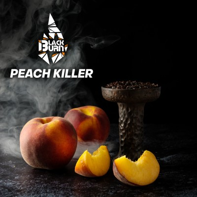 Табак Black Burn Peach Killer Персик 100г