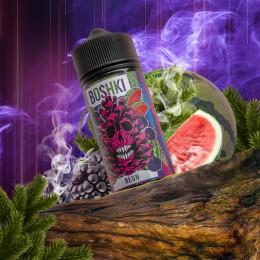 Жидкость BOSHKI Neon (Бошки Арбуз Ежевика Хвоя) 100мл 3мг