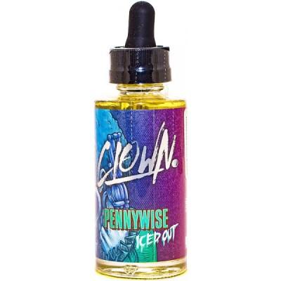 Жидкость Clown Pennywise ICED / Жидкость для вейпа арбуз клубника жвачка