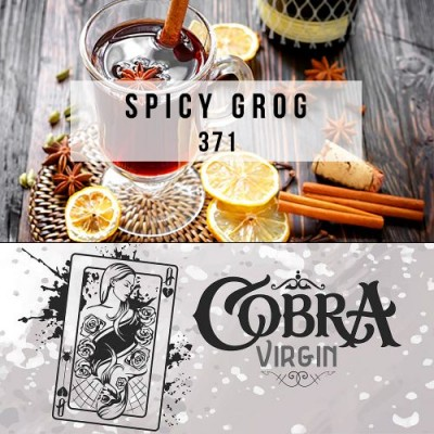 Табак Cobra Virgin Spicy Grog 50g