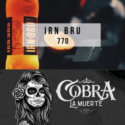 Табак Cobra La Muerte Irn Bru (Айрн Брю) 40g