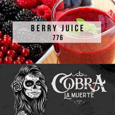 Табак Cobra La Muerte Berry Juice (Ягодный Морс) 40g