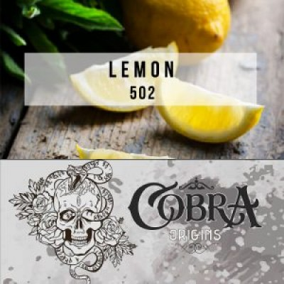 Табак Cobra Original Lemon 50g