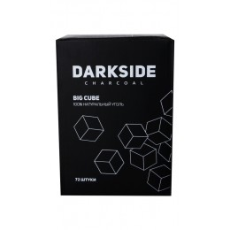 Уголь Dark Side Big Cube 72шт (25*25мм)
