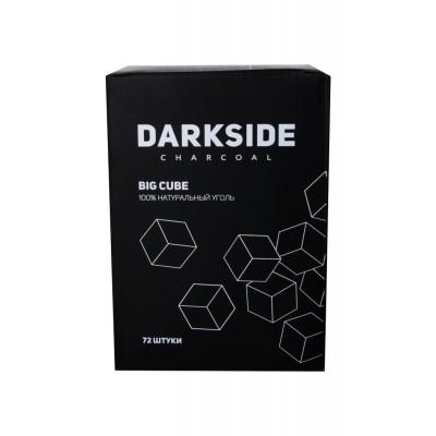 Уголь для кальяна DARKSIDE Big cube 72шт (1кг, 25мм)