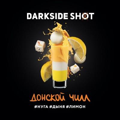 Табак Darkside Shot Донской Чилл (Нуга, Дыня, Лимон) 30г