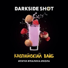 Табак Darkside Shot Каспийский Вайб (Личи, Малина, Кола) 30г