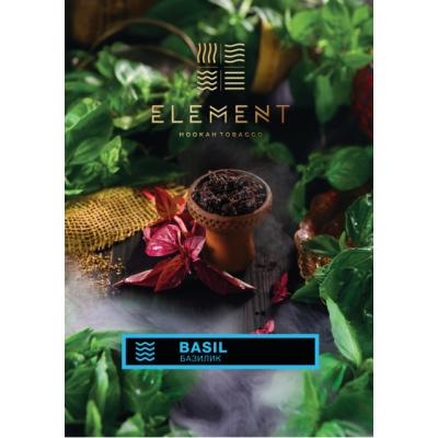 Табак Element Water Basil 100г