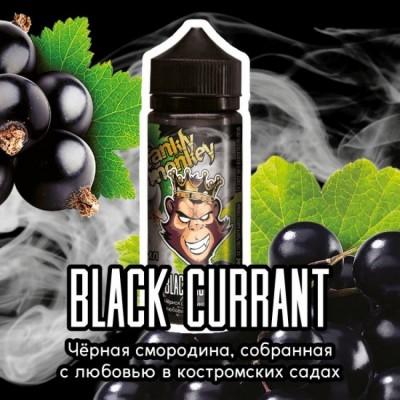 Жидкость Frankly Monkey Low Black currant 120мл 3мг