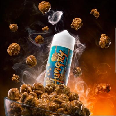 Жидкость Hungry Caramel Popcorn 120 мл 3мг