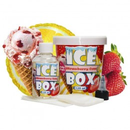 Жидкость Daily Vape Ice Box - Lemon Strawberry Cone 120мл 3мг