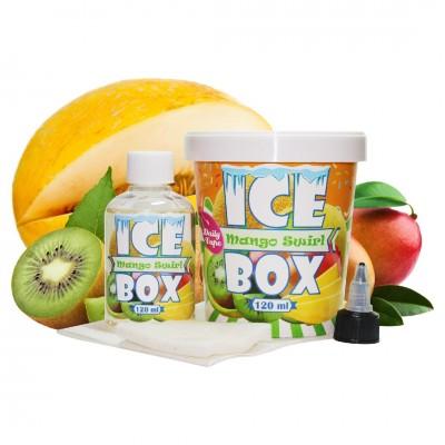 Жидкость Daily Vape Ice Box - Melon Mango Swirl 120мл 3мг