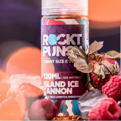 Жидкость Rockt Punch  Island Ice Cannon 120мл 3мг