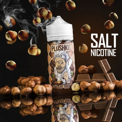 Жидкость Plushki Salt Chocolate Tarrone 100мл 3мг