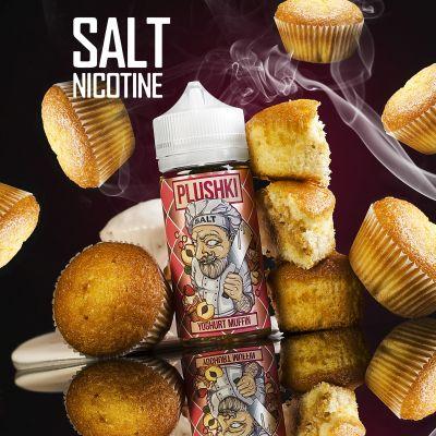 Жидкость Plushki Salt Yoghurt Muffin 100мл 3мг