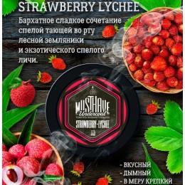 Табак для кальяна Musthave Strawberry-Lychee 125г