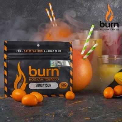 Табак Burn Sundaysun (Берн Цитрусовый микс) 100г
