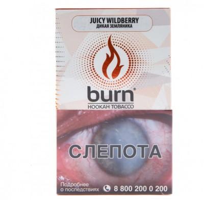 Табак Burn Juice Wildberry (Берн Дикая Земляника) 100г