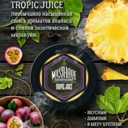 Табак для кальяна Musthave Tropic Juice (Мастхев Тропический сок) 125г