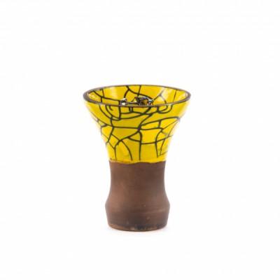 Чашка SALVA DOR Brasil жёлтая