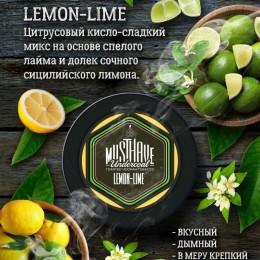 Табак для кальяна Musthave Lemon-Lime 125г