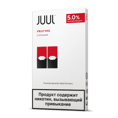 Картридж Juul Labs x2 JUUL 59 мг, 0,7 мл (Fruit Mix)