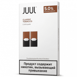 Картридж Juul Classic Tobacco 2шт 5.0