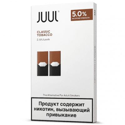 Картридж Juul Classic Tobacco 2шт / Сменный картридж Джул Табак