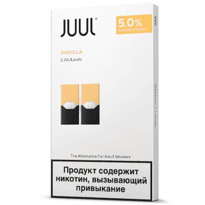 Картридж Juul Classic Vanilla 2шт / Сменный картридж Джул Ваниль