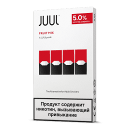 Картридж Juul Labs x4 JUUL 59 мг, 0,7 мл (Fruit Mix)