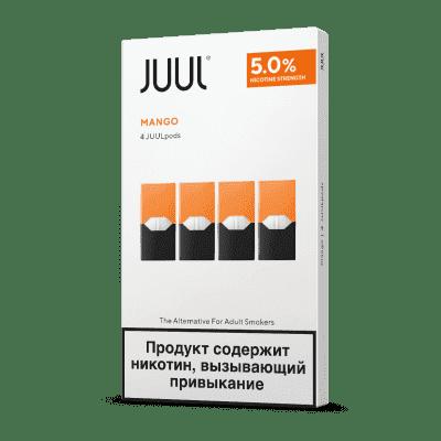 Картридж Juul Classic Mango 4шт 5.0