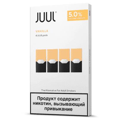 Картридж Juul Classic Vanilla 4шт / Картридж Джул Ваниль