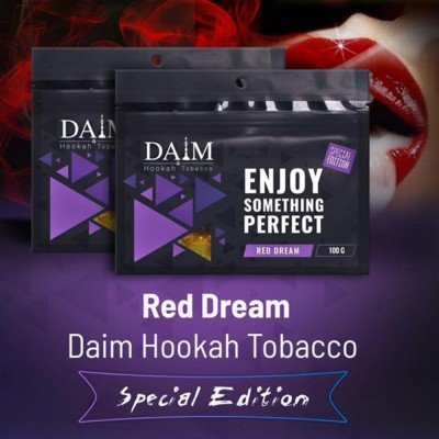Табак Daim Special Edition Red Dream 100г