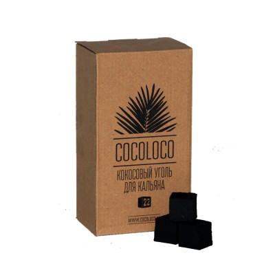Уголь для кальяна Cocoloco 1кг 96куб.