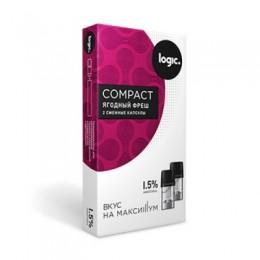 Картридж JTI x2 Logic Compact 1.6мл 1,5мг (Ягодный фреш)