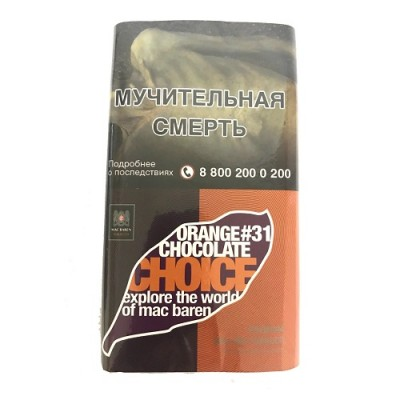 Сигаретный табак Mac Baren 'Orange Chocolate Choice (40 г)