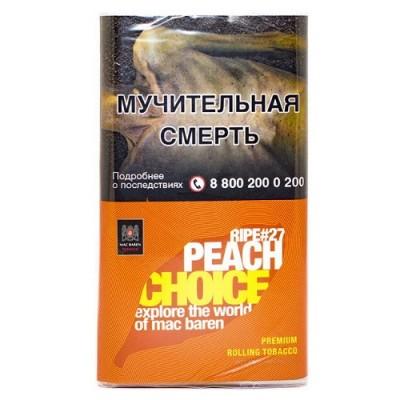 Сигаретный табак Mac Baren - Ripe Peach Choice #27 (40 г)