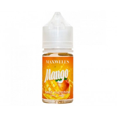 Жидкость Maxwells Salt Mango 30мл 12мг