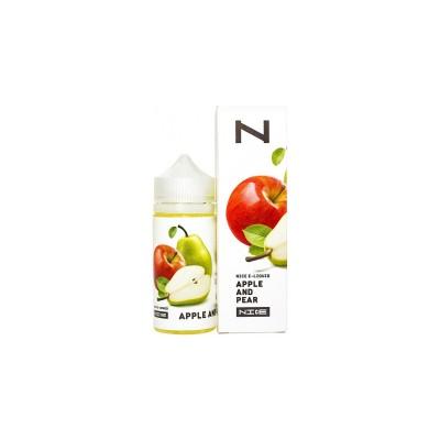 Жидкость NICE Shortfill Apple and Pear 100мл 0мг