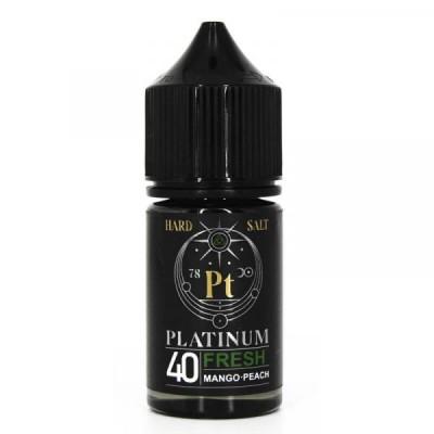 Жидкость Platinum Hard Salt Fresh 30мл 40