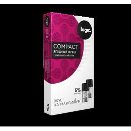 Картридж JTI x2 Logic Compact 1.6мл 5мг (Ягодный фреш)