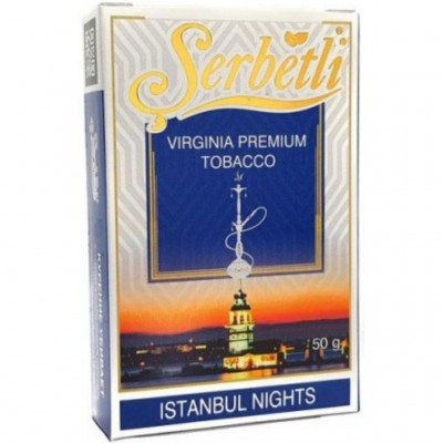 Табак для кальяна Serbetli Istambul Nights 50г
