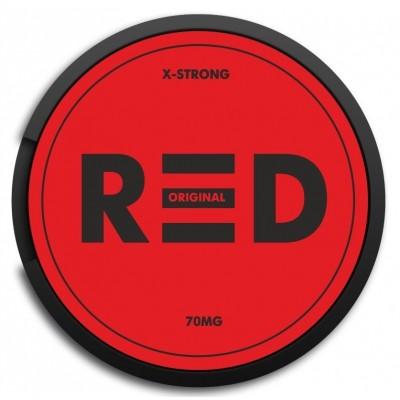 Жевательная смесь RED Original X-Strong 15г (70) / Снюс Рэд Крепкий Ориджинал