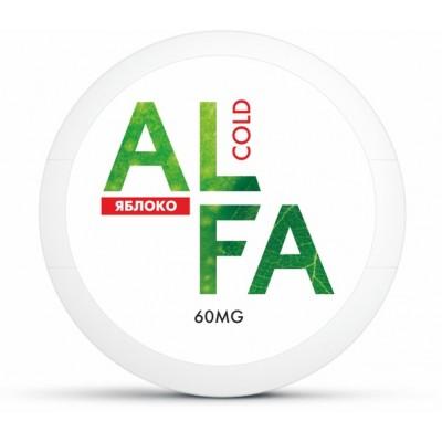 Жевательная смесь ALFA Cold Яблоко / Снюс Альфа Яблоко