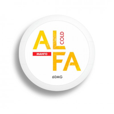 Жевательная смесь ALFA Cold Манго / Альфа Холодный манго