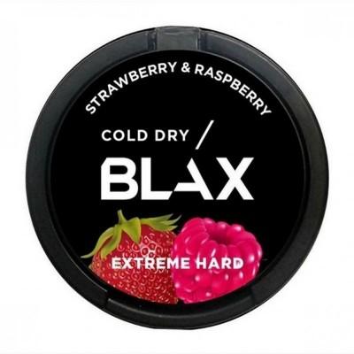 Жевательная смесь BLAX cold dry - Strawberry & Raspberry - (15 гр) / Снюс Блакс Колд драй Малина Клубника