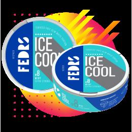 Жевательная смесь Fedrs Mint 8 Ice cool крепкая мята