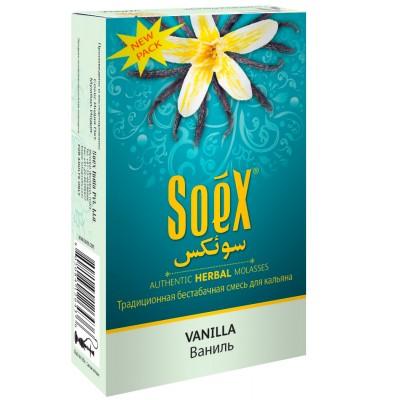 Бестабачная смесь для кальяна Soex Vanilla 50г